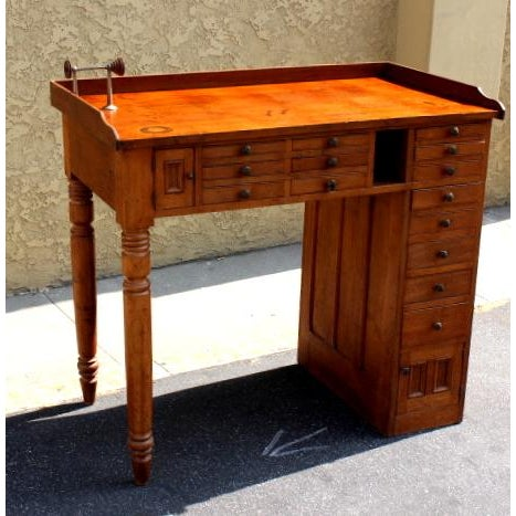 Vintage Watchmakers Bench - Image 3 of 4