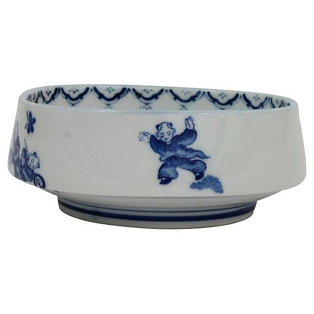 Antique Chinese Blue & White Bowl - Image 2 of 6
