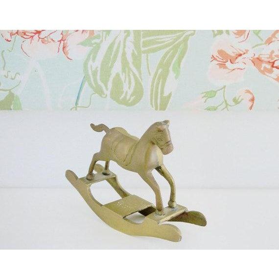 Brass Rocking Horse - Image 2 of 4