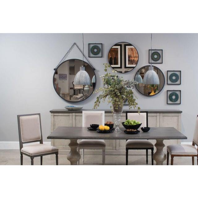 Sarreid LTD Metal Hanging Mirror - Image 3 of 4