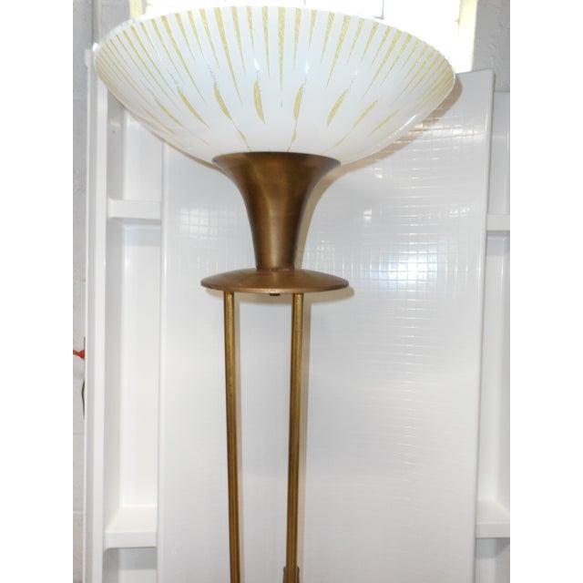 Gerald Thurston Mid Century Walnut Floor Lamp - Image 2 of 8