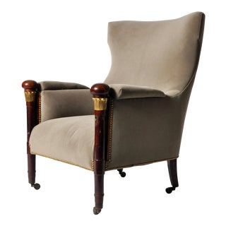 Hungarian Wingback Chair
