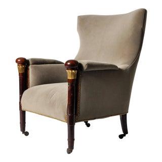 Hungarian Wingback Chair