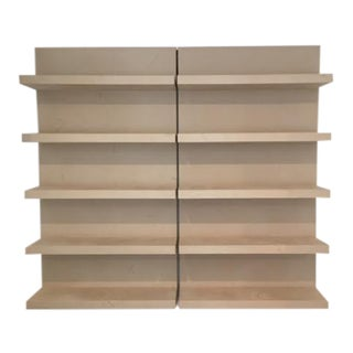 Environment Wall Mounted Shelves- A Pair
