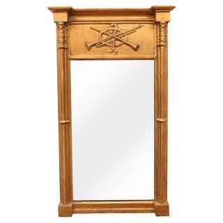 Antique Continental Gilt Mirror