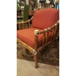 Image of Vintage McGuire Cream Leather Chair