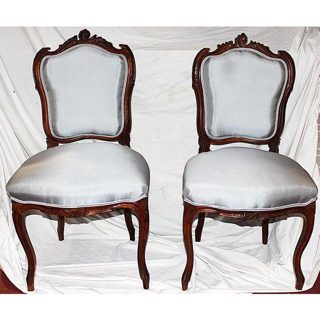 french salon chairs a pair chairish