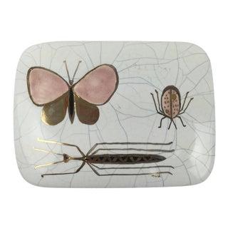 Mid-Century California Ceramic Insect Box
