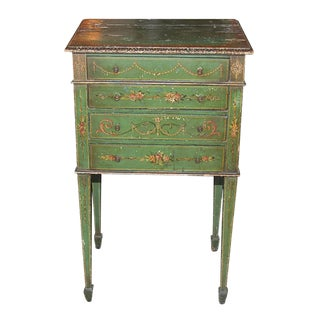 Italian Painted Side Table