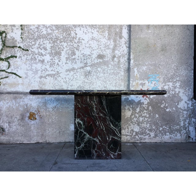 Marble Entryway Console Table - Image 4 of 6