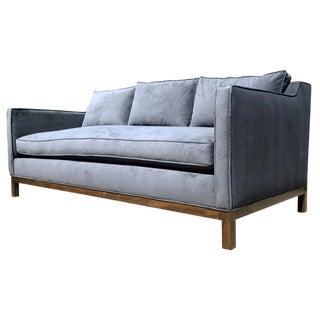 Empiric Evansville Fog Blue Sofa