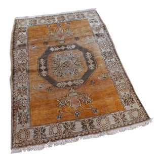 Turkish Hand Knotted Family Rug - 3′10″ × 5′9″
