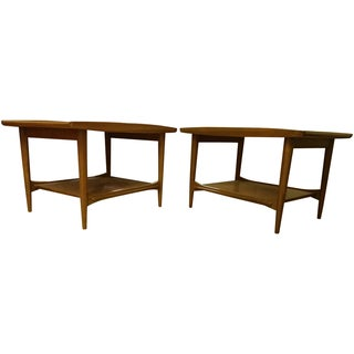 Canadian MCM Lane End Tables - a Pair