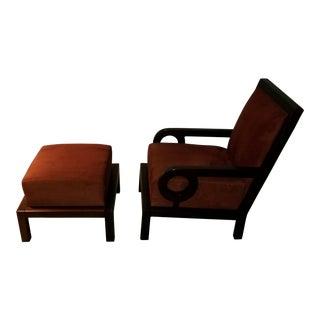 Dialogica Chair & Ottoman