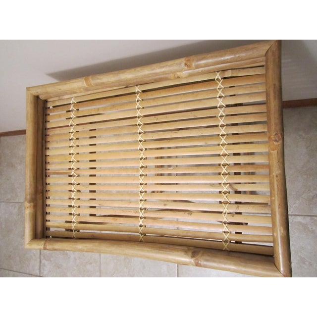 Image of Bamboo & Rattan Table Tray