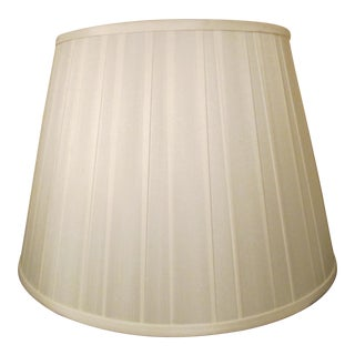 Pleated Silk Lampshade