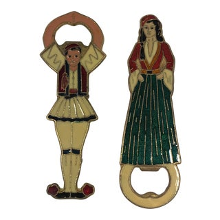 Greek Bottle Openers - A Pair