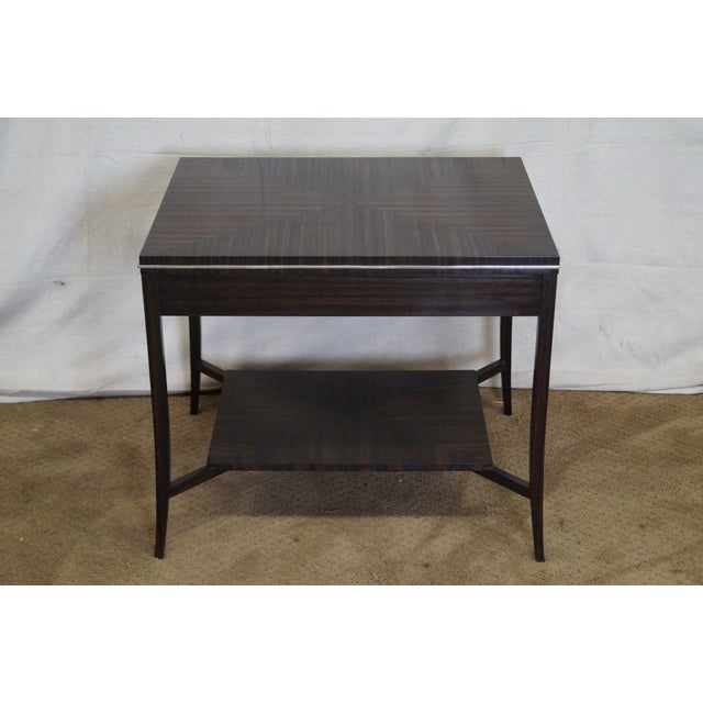 Jonathan Charles 1 Drawer Directoire End Table - Image 3 of 10
