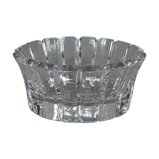 Orrefors Cut-Crystal Bowl