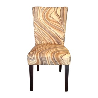 Agate Parsons Chair in Kelly Wearstler Fabric