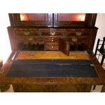 Image of Antique Mahogany American Empire Secretary 1800s