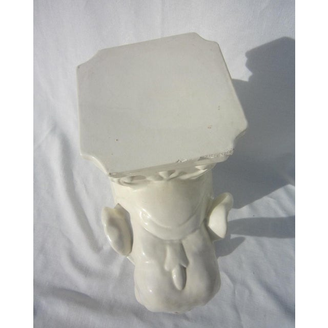Image of Ceramic Elephant Garden Stool
