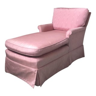 Vintage Pink Chaise Lounge