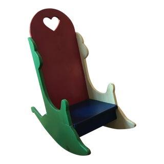 Vintage Children's Rocker Chair