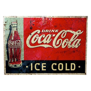 1920s Coca-Cola Advertising Sign