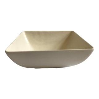 Royal Haeger Ivory Square Bowl