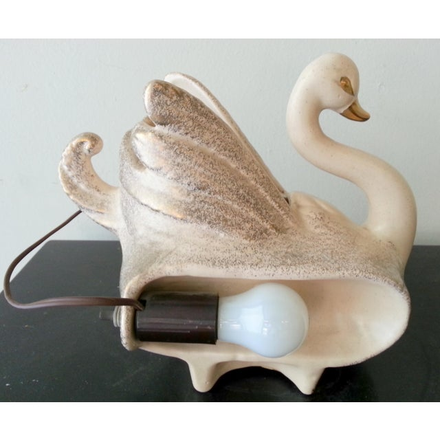 Gold Swan TV Lamp - Image 5 of 5