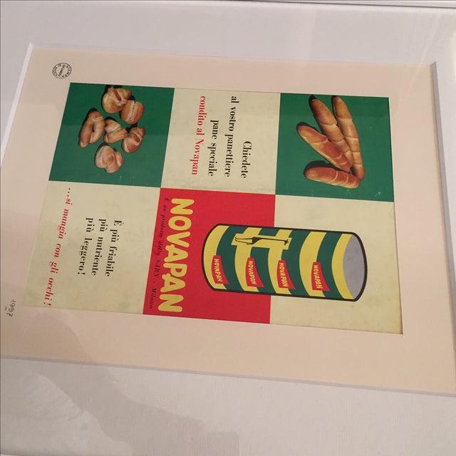 1957 Italian Novapan Advertising Print - Image 4 of 4