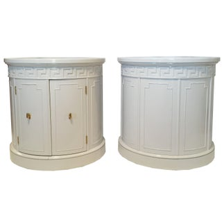 Thomasville Greek Key Side Tables - A Pair