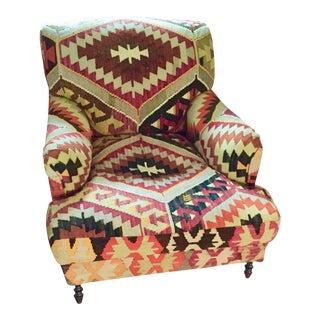 George Smith Kilim Side Chair