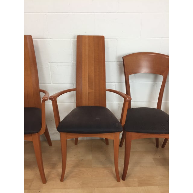A. Sibau Italian Mid-Century Modern Dining Chairs- Set of 6 - Image 3 of 11