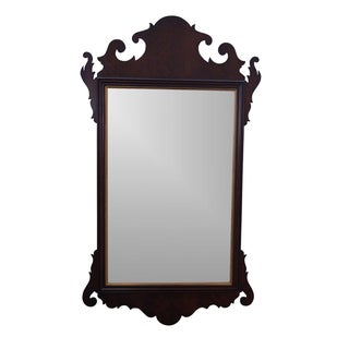 Statton Old Towne Cherry Chippendale Style Mirror
