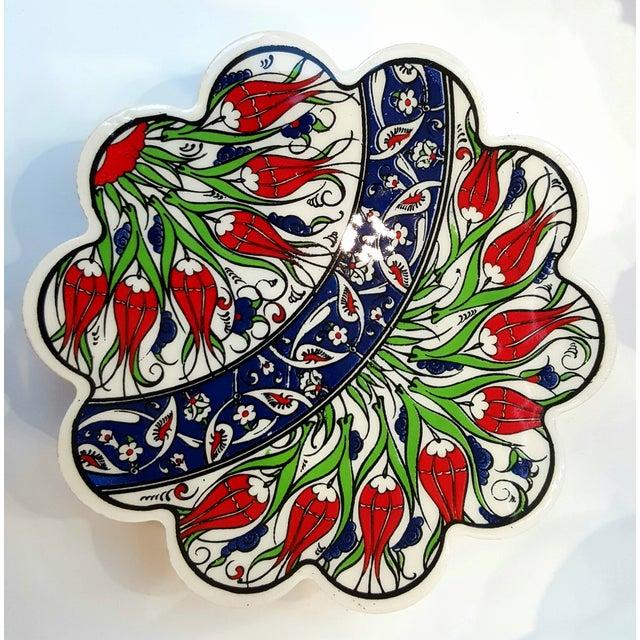 Image of Turkish Tile Trivets - Set of 5