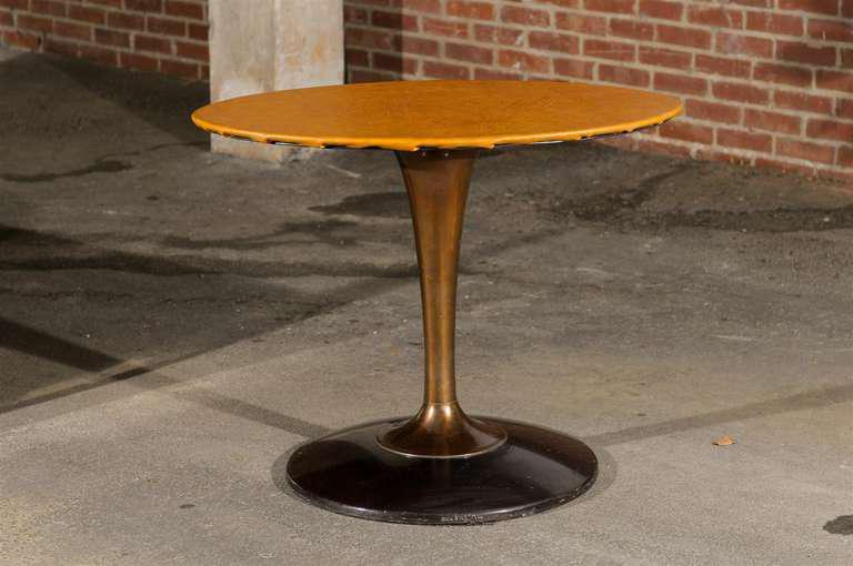 Mid Century Tulip Shaped Table Base   Image 3 Of 8
