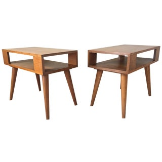 Conant Ball Side Tables - A Pair