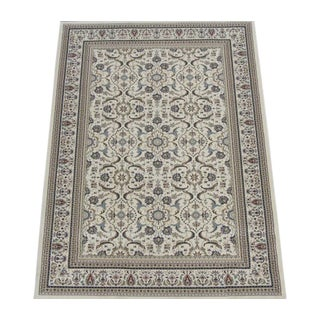 "Herati Traditional Ivory Rug - 7'3"" x 5'25"""