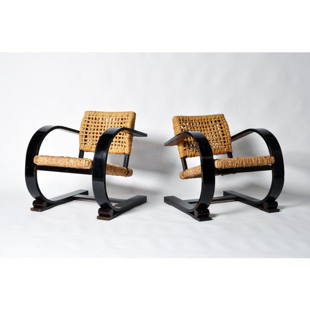 Pair of Art Deco Bentwood Arm Chairs - Image 2 of 11