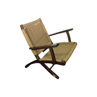 Hans Wegner Style Rope Chair