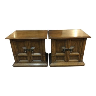 Heritage Nightstands - A Pair