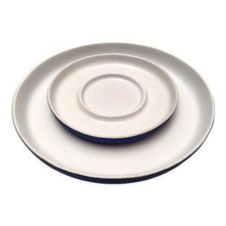 Bennington Potters Platters - A Pair