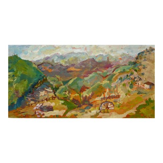 Malibu Ranch Oil Painting by Martha Holden