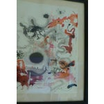 Image of Mid-Century Abstract Watercolor Painting