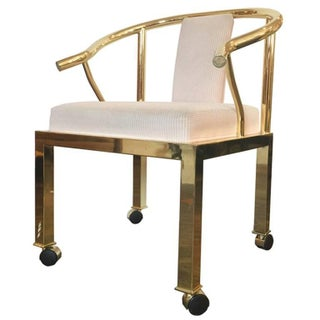 Dia Brass Ming Style Chair