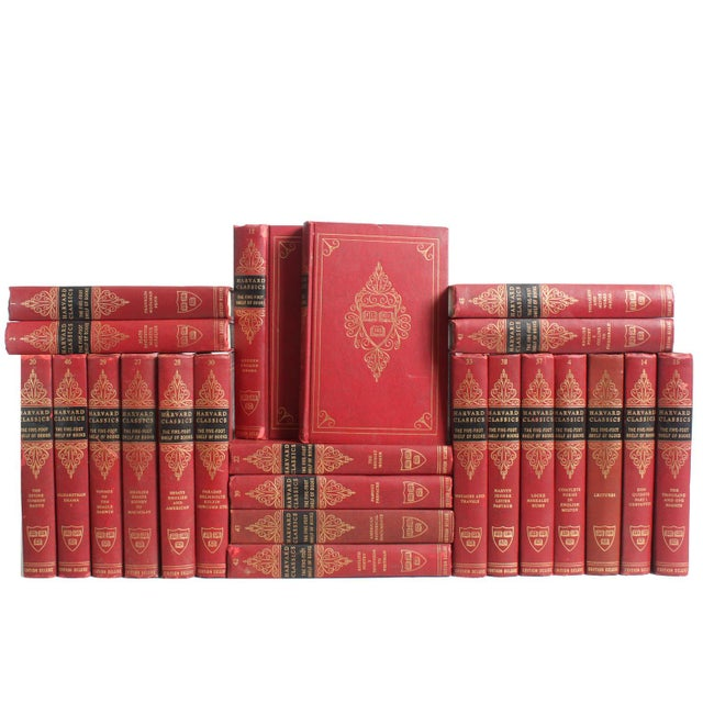 Red Harvard Classic Books - Set of 23 - Image 1 of 2