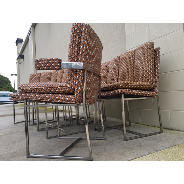 Milo Baughman ForThayer Coggin Chairs - Set of 8 - Image 11 of 11