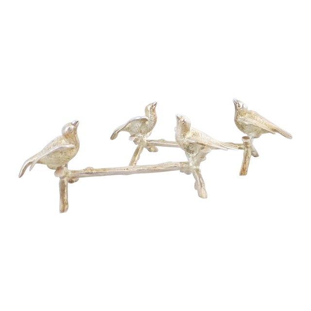 Figural Bird Knife Rests - A Pair - Image 1 of 6